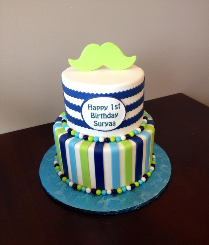 Boy 1st Birthday Cake Gallery