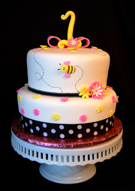 Girl Birthday Cake Gallery