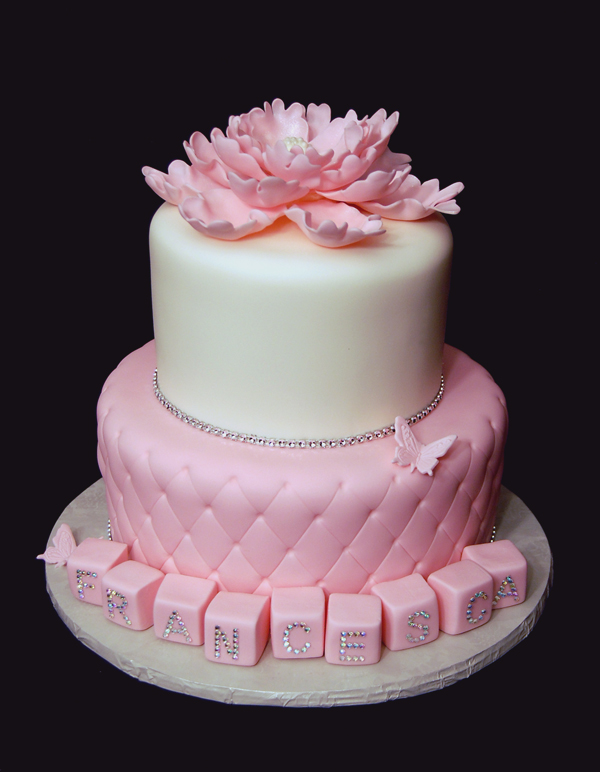 Girl 1st Birthday Cake Gallery